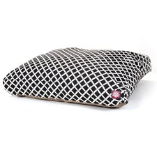 <strong>Majestic Pet Products</strong> Bamboo Rectangle Pet Bed