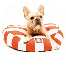 <strong>Majestic Pet Products</strong> Vertical Strip Round Dog Pillow