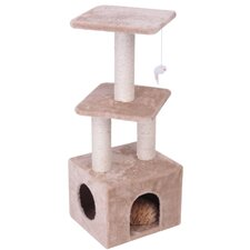 "40"" Casita Fur Cat Tree"