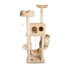 "<strong>Majestic Pet Products</strong> 76"" Casita Fur Cat Tree"