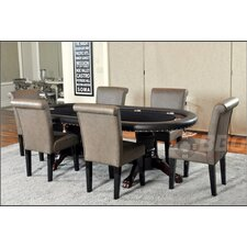 Rockwell 8 Piece Dining Table Set with Premium Chairs