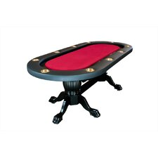 "Elite 94"" Sunken Playing Surface Poker Table"