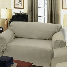 Loosefit Loveseat Skirted Slipcover