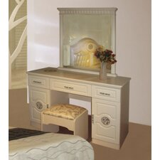 Sydney Dressing Table with Mirror