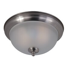 Essentials 2 Light Flush Mount