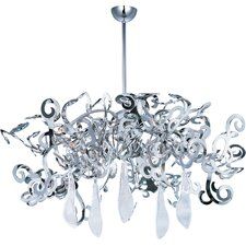 Tempest 8 Light Crystal Chandelier