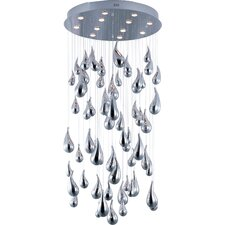 Rain 12 Light Flush Mount