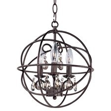 Orbit 3 Light Foyer Pendant