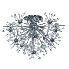 Starfire 8 Light Semi Flush Mount