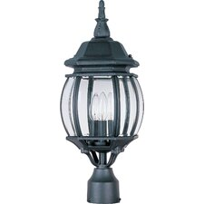 Crown Hill 3 Light Outdoor Post Lantern