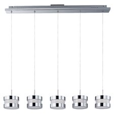 Disco 5 Light Kitchen Island Pendant