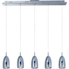 Bullet 5 Light Kitchen Island Pendant