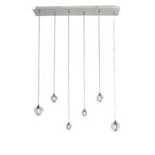 Harmony 6 Light Kitchen Island Pendant