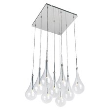 Larmes 9 Light Kitchen Island Pendant