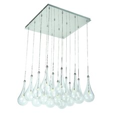 Larmes 16 Light Kitchen Island Pendant
