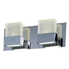 Fizz III 2 Light Bath Vanity Light