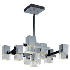 Nova 9 Light Kitchen Island Pendant