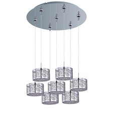 Inca 7 Light RapidJack Kitchen Island Pendant
