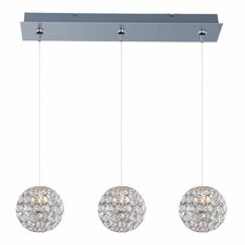 Brilliant 3 Light RapidJack Kitchen Island Pendant