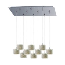 Confetti 10 Light RapidJack Kitchen Island Pendant
