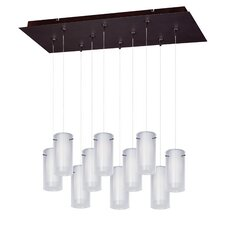 Frost 10 Light RapidJack Kitchen Island Pendant