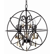Orbit 4 Light Mini Chandelier
