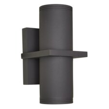 Lightray 2 Light LED Outdoor Wall Sconce