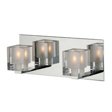 Blocs 2 Light Vanity Wall Sconce