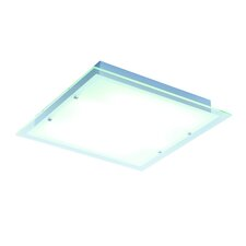 <strong>ET2</strong> Contempra 4 Light Fluorescent Semi Flush Mount