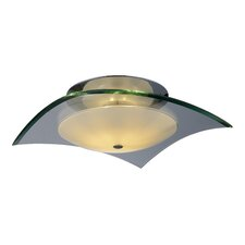 Curva 1 Light Semi Flush Mount