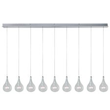 Sklo 9 - Light Linear Pendant