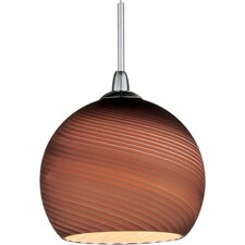 Chocolate Mousse 1-Light RapidJack Pendant