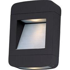 Optic 2 Light LED Outdoor Pocket Sconce