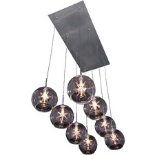 Starburst 8 Light Pendant
