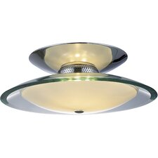 Curva 3-Light Flush Mount