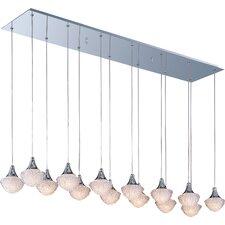 Voices 14 Light Linear Pendant