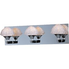 <strong>ET2</strong> Blossom 3 Light Bathroom Vanity Light