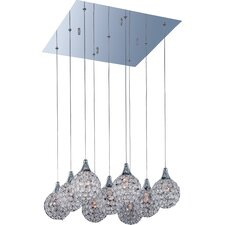 Vibrato 9 - Light Multi - Light Pendant