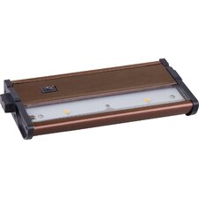 "CounterMax MX-L120DC 7"" 2-Light LED Under Cabinet Light"
