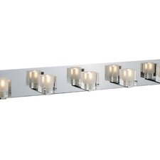 Blocs 5 Light Vanity Light