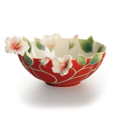 Island Beauty Hibiscus Flower Bowl
