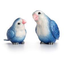 2 Piece Lovebirds Figurine Set