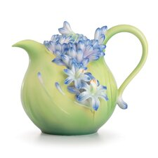 Lily of the Nile Flower Teapot