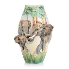 Family Fun Elephant Vase