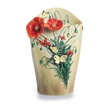 Van Gogh Poppy Flower Medium Vase