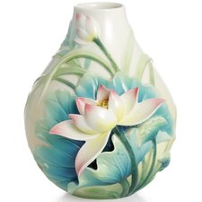 Peaceful Lotus Flower Vase