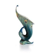 Peacock Splendor Vase
