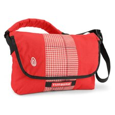 Spin Plaid Messenger Bag