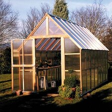 Mt. Rainier 10' H x 8.0' W x 16.0' D Polycarbonate 4.5 mm GardenHouse