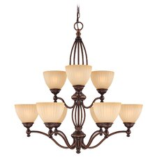 <strong>Dolan Designs</strong> Jasmine 9 Light Chandelier